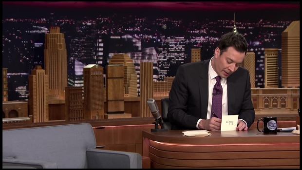 Jimmy Fallon Writes Thank You Notes