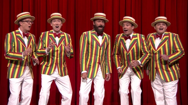 "[NATL] WATCH: Jimmy Fallon and The Ragtime Gals Sing ""Roxanne"" With Sting"