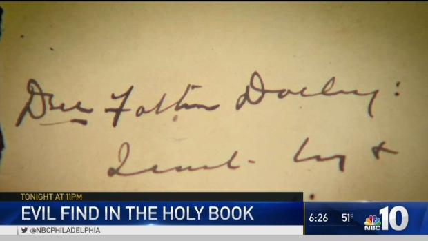 Couple Says They Found Note Signed by Serial Killer in Family Bible