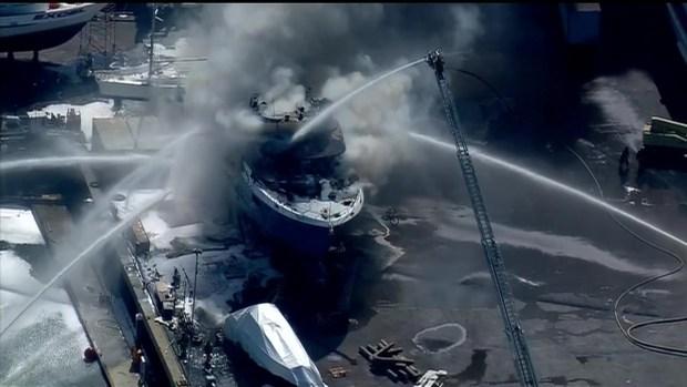 [DGO] Fire Breaks Out on Yacht