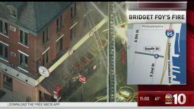 [PHI] Fire Destroys South Street's Bridget Foy's