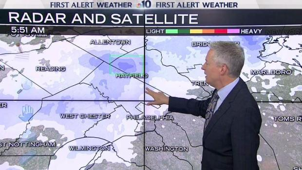 NBC10 First Alert Weather: Snow Moving Out