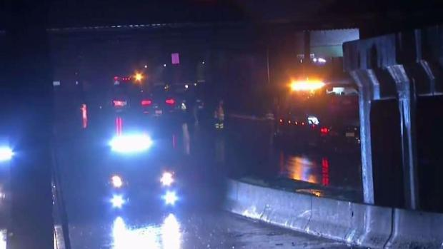 Route 38 Flooding in Cherry Hill