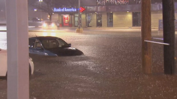 Flooding Leads to Trapped Drivers and Rescues