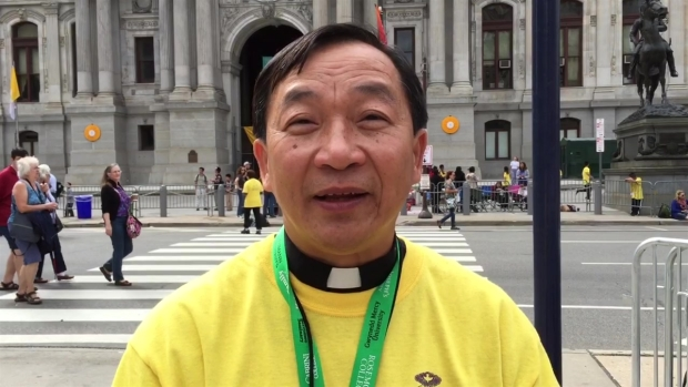 Vietnamese Catholic Pilgrims Traveled Miles