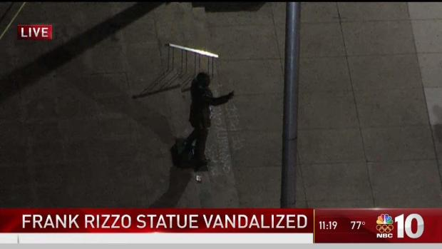 [PHI] Frank Rizzo Statue Vandalized