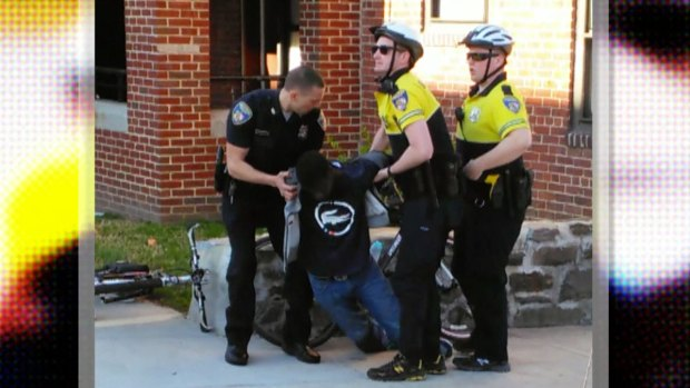 [NATL] WATCH: The Moment Freddie Gray Was Arrested