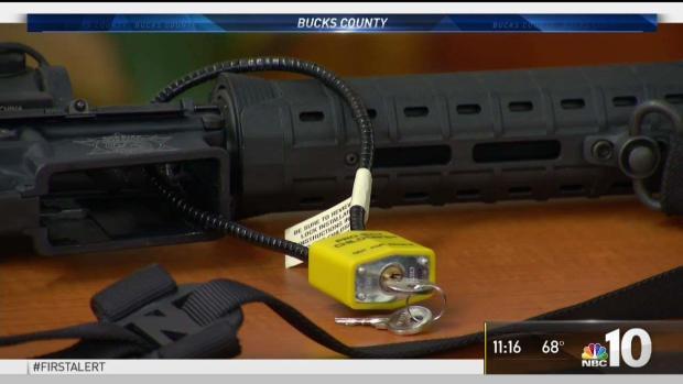 [NATL-PHI] Free Gun Locks Offered in Child's Memory