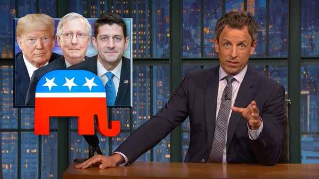 [NATL] 'Late Night': A Closer Look at The GOP Holding Trump Accountable