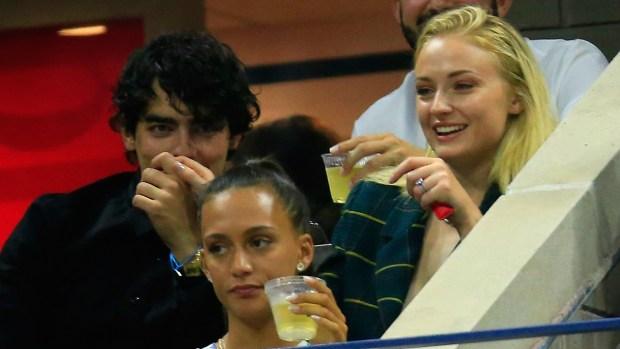 [NATL] Celebrities in the Stands: Joe Jonas, Sophie Turner at US Open