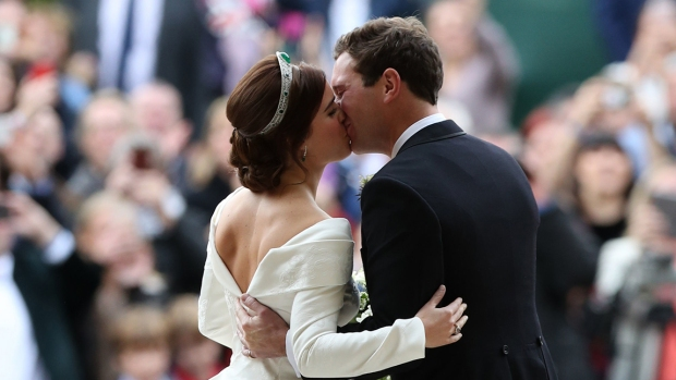 Royal Family Photos: Princess Eugenie Weds Beau
