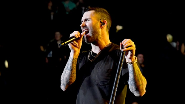 [NATL] Top Entertainment Photos: Maroon 5 Plays in New York City and More