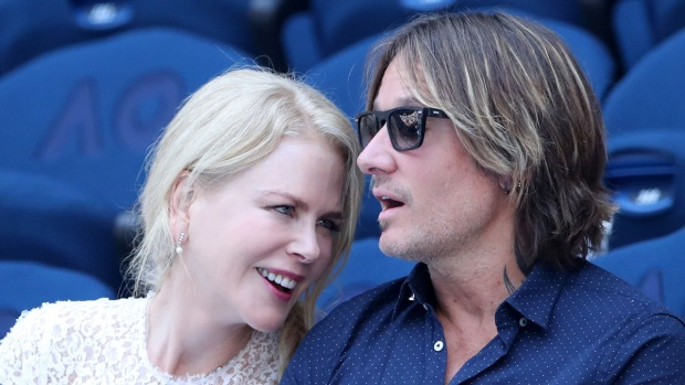 Celebs in the Stands: Nicole Kidman, Keith Urban at Aus Open