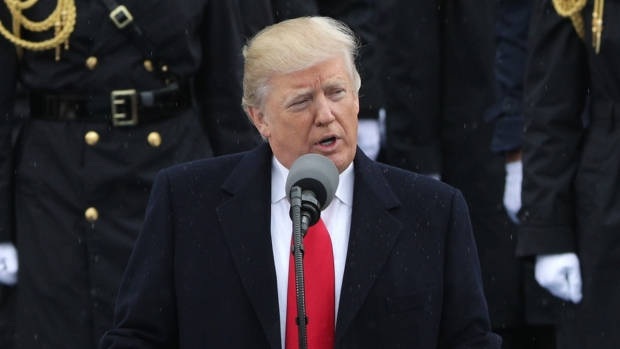 Donald Trump's inauguration speech evokes fellow man of the people Bane