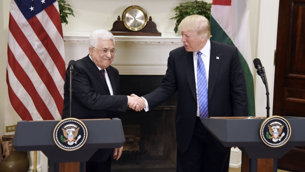 [NATL] Trump Meets With Palestinian Leader Abbas