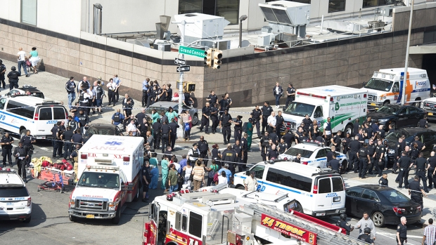 In Pictures: Seven Shot at New York City Hospital