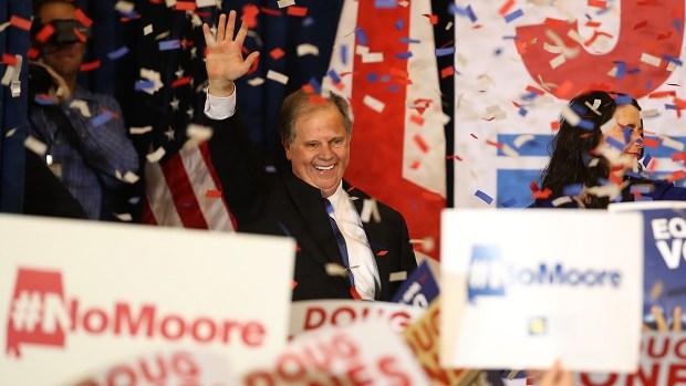 Top News: Doug Jones Wins Alabama Senate Seat in Upset