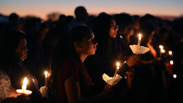 Grieving Community Gathers to Remember Stoneman Douglas School Shooting Victims