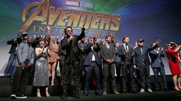[NATL]'Avengers: Infinity War' Premiere Kickstarts Movie Season