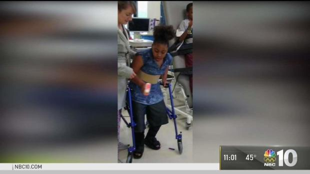 Walker Stolen From Girl With Cerebral Palsy