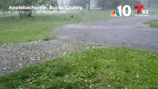Hail Slams the Region