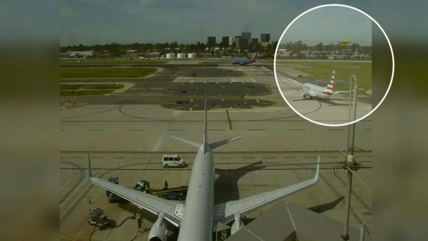 Video Shows Harrison Ford's Near-Miss While Landing Plane in Calif.