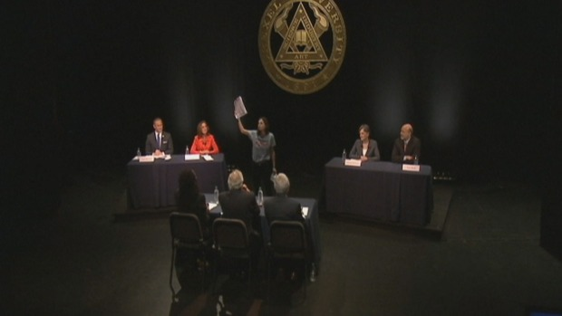 [PHI] WATCH: Heckler Interrupts Pa. Gov. Candidate Debate