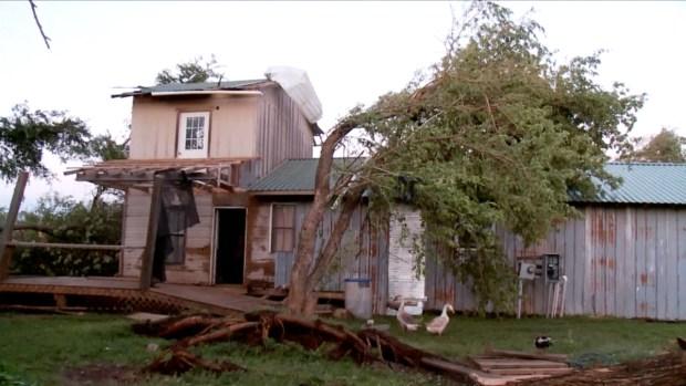 "'This Is Gonna Be My Time"": Okla. Tornado Survivor"