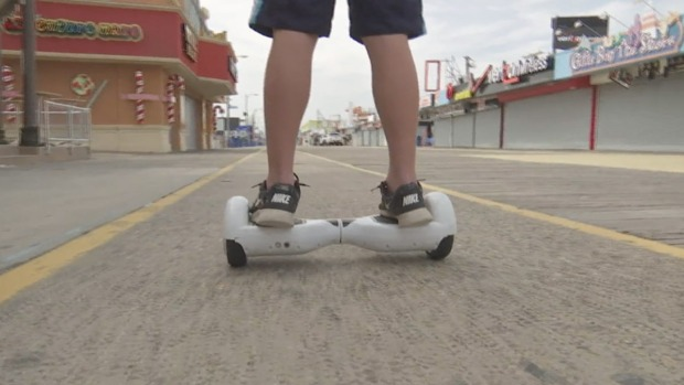 Should Hoverboards Be Banned From Jersey Shore Boardwalks?