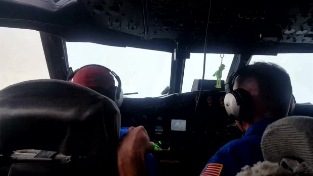 Hurricane Hunters Fly Into Harvey