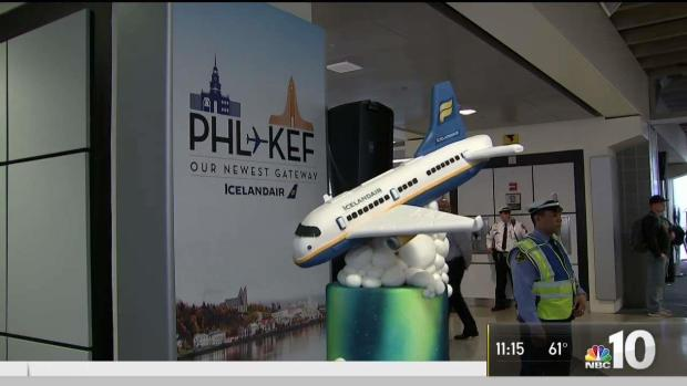 Icelandair Takes Off from Philly International Airport