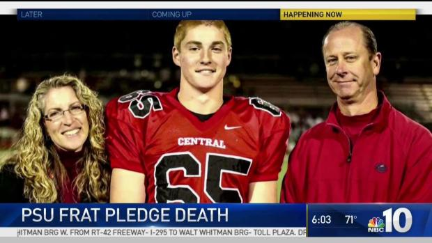 Hearing underway for frat brothers in Penn St pledge's death