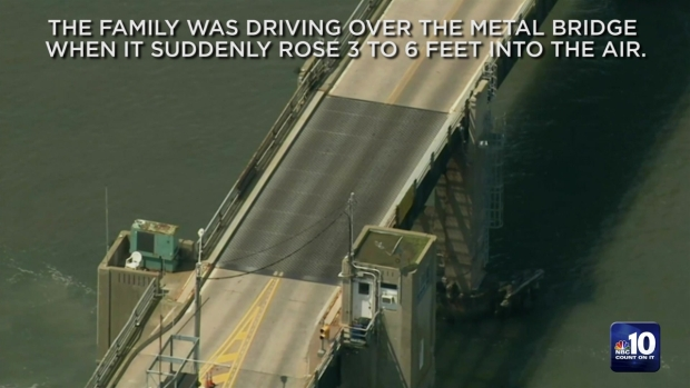 [PHI] Family Forced to Jump Over Opening Drawbridge