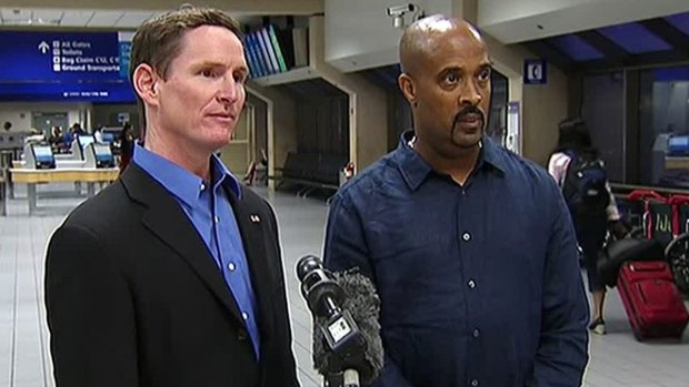 [DFW] Jenkins and Haynes Talk to Media After McAllen Trip