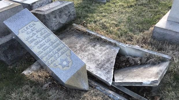 Vandals Target Jewish Cemetery in Philadelphia