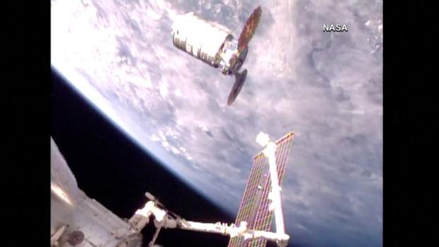 [NATL] John Glenn Spacecraft Arrives at International Space Station