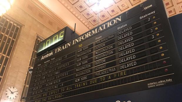 [PHI] Junkyard Fire Impacts Amtrak Services