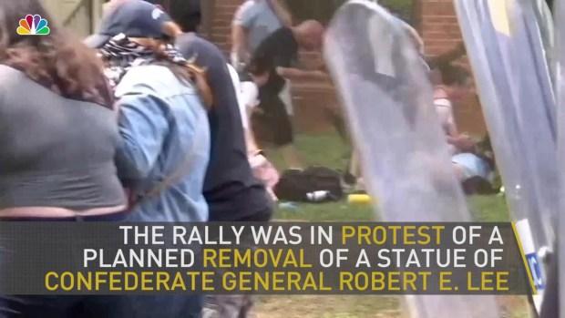 [NATL] KKK Rally in Virginia Protests Confederate Statue Take Down