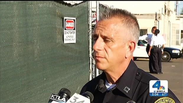 [LA] Inglewood Officer Shot in Chest Was Wearing Ballistics Vest