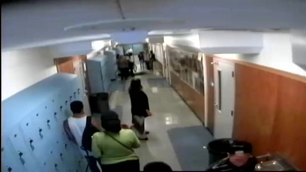 [BAY] RAW VIDEO: School Officer Accused of Striking Student