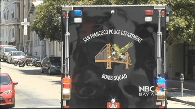 [BAY] FBI, Hazmat Crews Outside SF Building