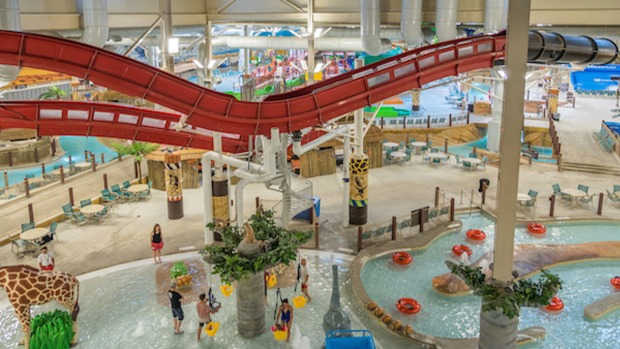 Pa. Resort Features America's Biggest Indoor Water Park