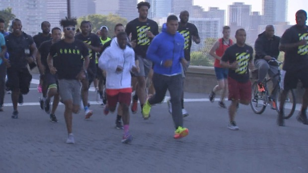 Local Runners Spend Morning With Kevin Hart