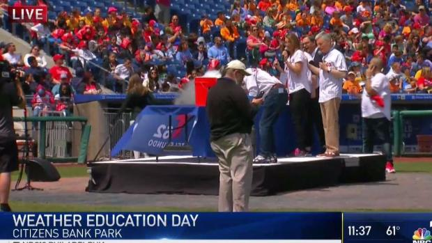 [PHI] Kids Gather at Phillies Ballpark for Weather Education Day