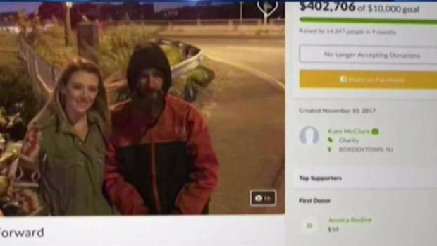 NJ GoFundMe Couple, Homeless Man to Face Charges
