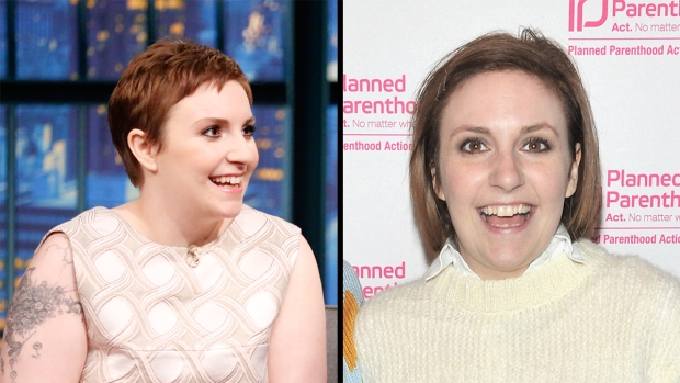 Dramatic Hair Transformations: Lena Dunham