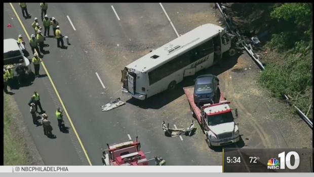 Local Students Hurt in Maryland Bus Crash