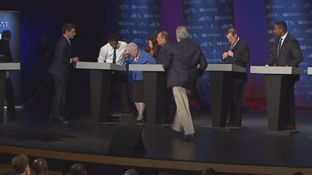 [PHI] Lynne Abraham Collapses During Debate