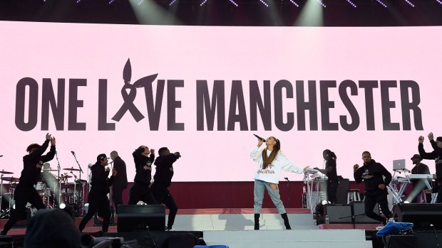 [NATL]'One Love': Stars, Fans Flock to Manchester Concert