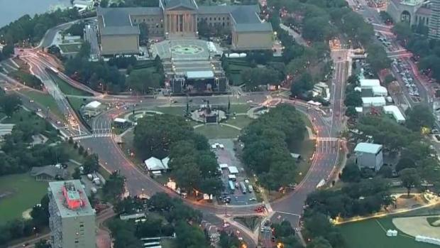 Made in America Road Closures Ramp Up